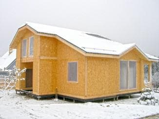 проект дачного одноэтажного дома