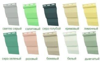 цвета материала