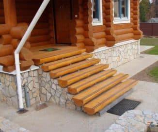 ширина лестницы в частном доме