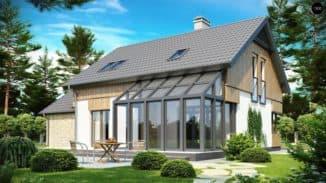 Дом с зимним садом