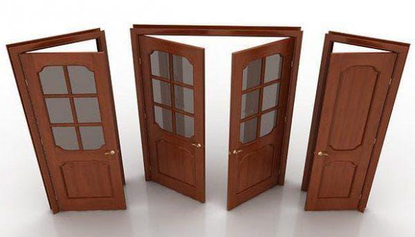 дверная коробка необычной конструкции