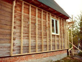 утепление дома из бруса 150х150 снаружи