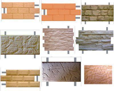 фасадная плитка толщиной от 2 до 4 см с металлическими креплениями