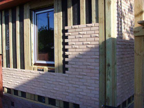 фасадная плитка с металлическими креплениями Стройматериалы компании «Каньон»