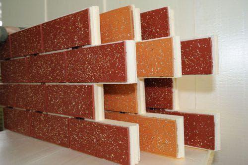 фасадная плитка с металлическими креплениями Первоуральский завод фасадных материалов «ПРОФИСТ»