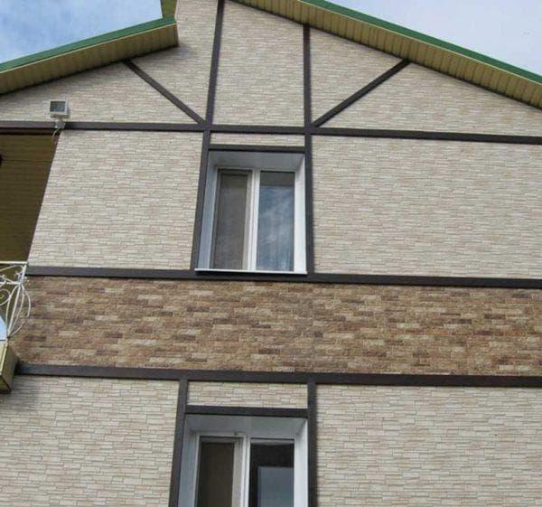 фиброцементные панели для наружной отделки дома Роспан