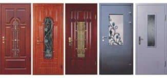 металлические двери со стеклом от производителя