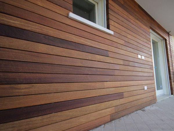 деревянные под липу облицовочные панели для фасада дома