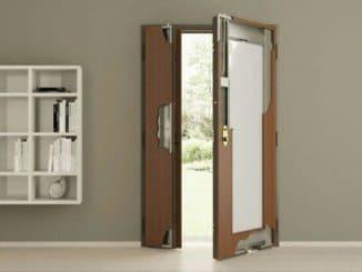 двухстворчатая дверь металлическая входная уличная двухстворчатая