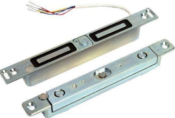 электромагнитный замок для алюминиевых дверей