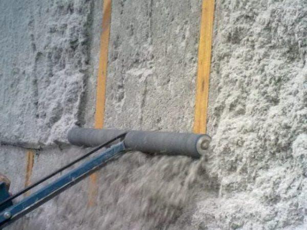 вата из целлюлозы для утепления стен