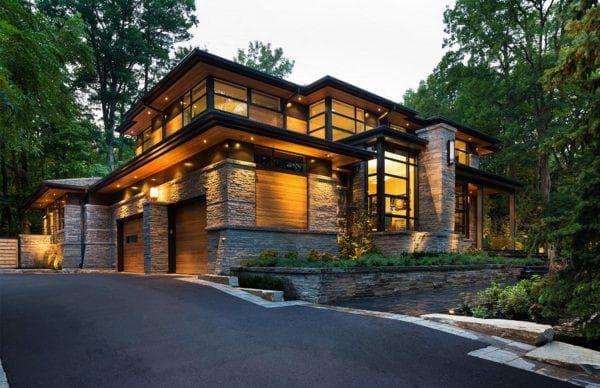проект дома Luxury-модерн