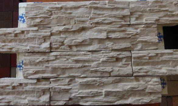 древесноволоконные цокольные панели под камень