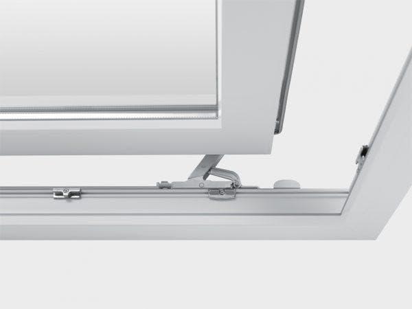 алюминиевые поворотно-сдвижные окна на балкон