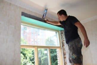 как установить откосы на пластиковые окна