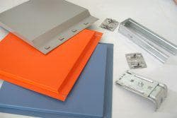 стальный кассеты для фасадов