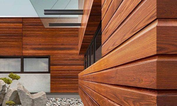 деревянные фасадные панели для наружной отделки дома