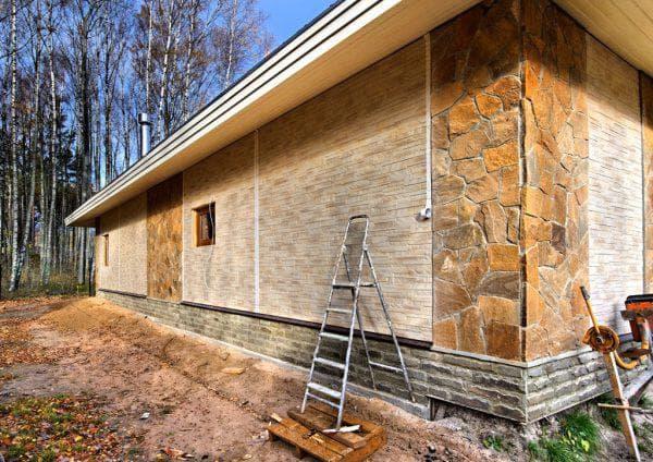 фасадный керамосайдинг для наружной отделки дома