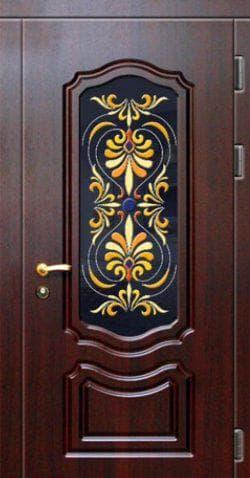 входная металлическая дверь Витраж