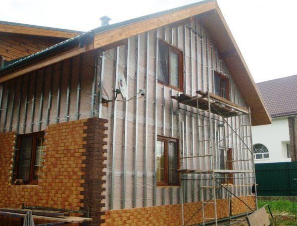 фасадные панели для наружной отделки дома FTP-Europa