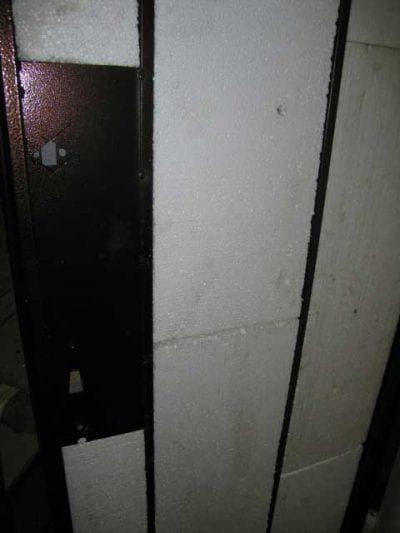пенопласт утеплитель для металлической двери