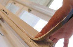 утепление деревянного окна поролоном