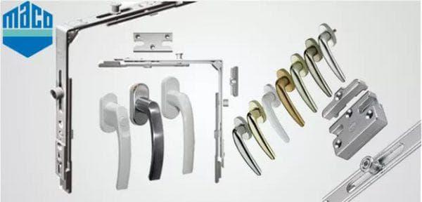 фурнитура мако для пластиковых окон