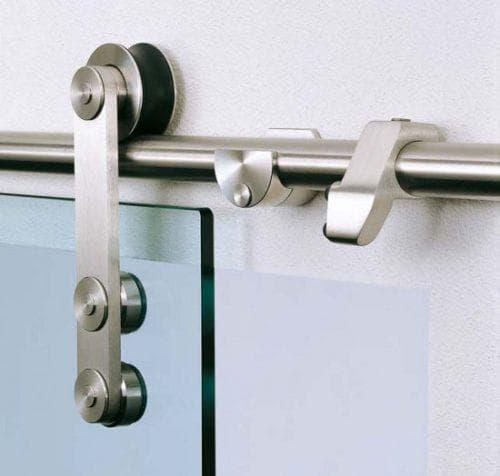 роликовые конструкции для раздвижных стеклянных дверей
