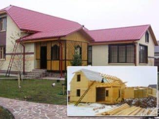 деревянные отделочные материалы для фасадов частных домов