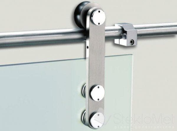 крепёж для раздвижных стеклянных дверей