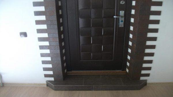 плитка для проёма дверей