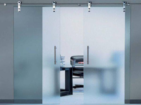 полотно для раздвижных стеклянных дверей