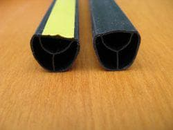 монтаж магнитного уплотнителя для металлических дверей