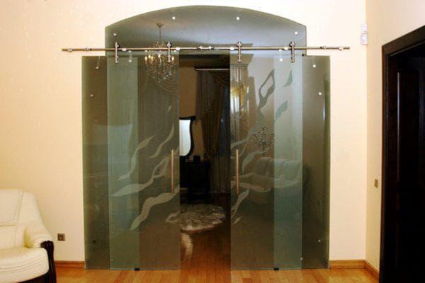 раздвижные стеклянные двери от производителя Valcomp