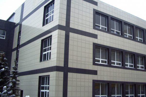 керамогранитные вентилируемые фасады