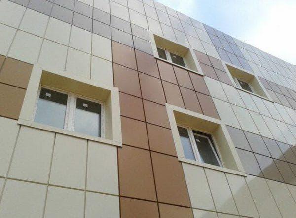 вентилируемые фасады из металлокассеты