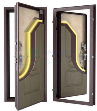 дверь металлическая уличная входная с терморазрывом