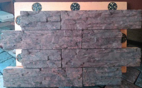 полиуретановые цокольные панели под камень