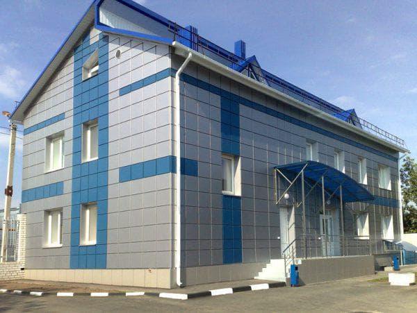 металлические облицовочные панели для фасада дома