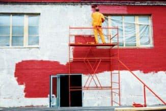 резиновая краска для кирпича для наружных работ