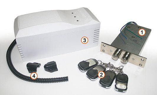 электрический замок невидимка для дома