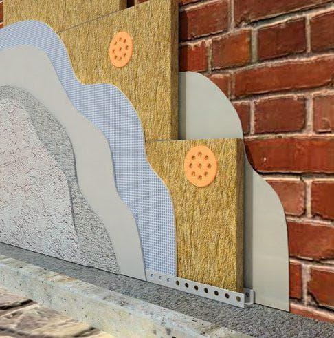базальтовая вата для наружной отделки дома