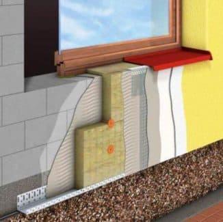 расход материалов для утепления фасада дома