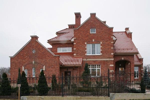 загородный дом на фото