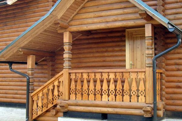 Перила деревянные для лестниц - изготовление своими руками