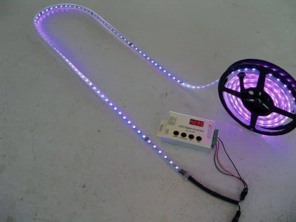 Монтаж ленты со светодиодами