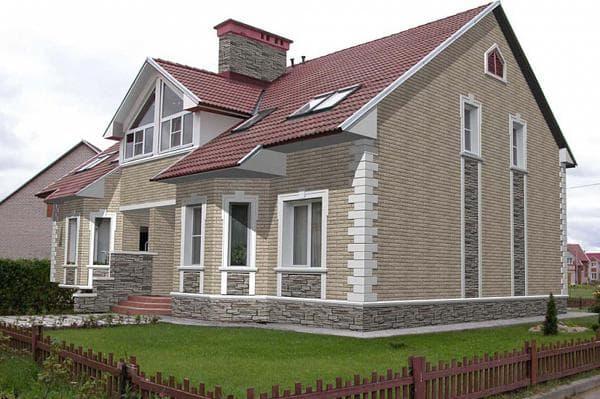 фасадные панели на фото