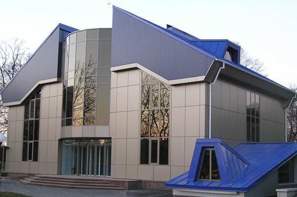 отделка здания из газобтона