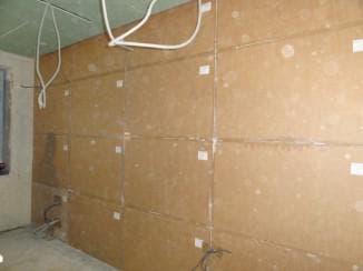 бескаркасный вариант для стен