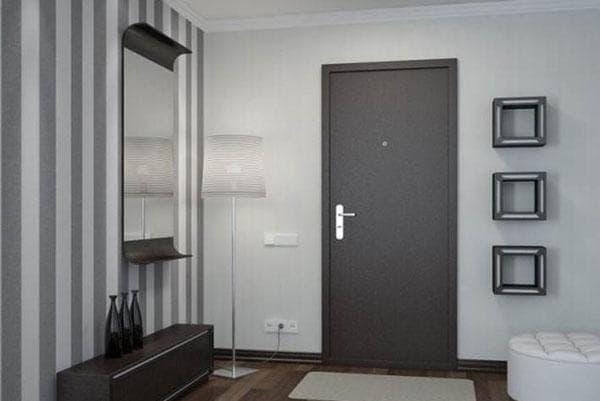 утепленная металлическая дверь